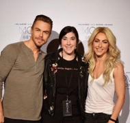 """""""Best Day Ever! I got to meet two awesome people who absolutely inspire me @juleshough and @derekhough 💕 The @movebeyondlivetour is Incredible and everyone should go and see it!!! •"""" - Move Beyond - New York - May 6, 2017 Courtesy ashleynicoler7 IG"""