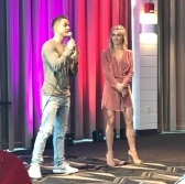 """If your into this... #vip #meetandgreet #derekhough #juliannehough #movebeyond #happybirthdayapril #clearwaterbeach"" - Move Beyond - Clearwater, Florida - May 13, 2017 Courtesy c_ocull IG"