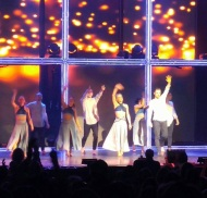 """""""WOW what a show!! 🌟 🌟🌟#derekhough and #juliannehough and all the other dancers were so good!! 💃I could see it again 😍 #movebeyond #moveliveontour #radiocitymusichall"""" - Move Beyond - New York - May 6, 2017 Courtesy entertainmentgirl IG"""