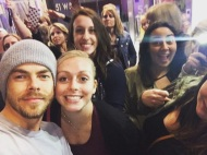 """""""Well this was definitely worth waiting outside of the show for almost three hours! 💕 #MOVEBeyond"""" - Move Beyond - New York - May 6, 2017 Courtesy kennarayy IG"""