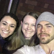 """Tonight I had the opportunity to see the best dance show I have seen- @derekhough and @juleshough in #movebeyond. I know I've posted a lot of pictures with Derek and Julianne (and @melissc5 😉) over the years, but they're truly two of the most kind, humble, and talented individuals I've met. The show tonight was not only fun and incredible in every way, but it left me in awe. From the insane creativity and choreography to the inspiring message, I am in complete awe. Thank you Derek and Julianne for a great night that I'll never forget. Tonight I'm going to bed motivated. Ready to kick some butt and achieve some goals tomorrow and every day moving forward!"" - Move Beyond - Boston, Massachusetts - May 5, 2017 Courtesy kupskik IG"