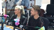 """We're in #SeacrestStudios with @juliannehough and @derekhough! So happy they are here! @RyanFoundation"" - Charlotte, North Carolina - May 10, 2017 Courtesy LevineChildrens twitter"