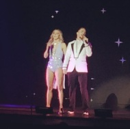 """Move beyond - having a great time #movebeyond #tour #juliannehough #derekhough #goodtimes @moveliveontour"" - Move Beyond - Red Bank, New Jersey - May 2, 2017 Courtesy terrysommella IG"
