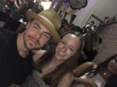 """""""Today I met my dance idol @derekhough who pushes me further as a dancer (especially tap)! He is an inspiration and a true role model!"""" Courtesy Allielobo tw"""