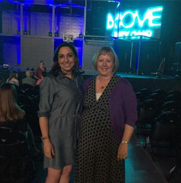 """Second round ! Seeing Move Beyond again in Wichita,KS with my good friend! Such a great show... definitely a must see❤️#MOVEBEYOND"" Courtesy debbie_schwartz ig"