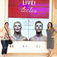 """Had such a great time with Morgan at @movebeyondlivetour today in Salt Lake City! I've been to all three tours now, it's my favorite! Love watching the super talented @juleshough and @derekhough duo! So entertaining! Thanks so much for the great show and thanks for coming with me Morgan! #moveliveontour #movebeyondliveontour #saltlakecity #utah #ecclestheater #lularoejulia @moveliveontour"" Courtesy lularoebrittneyknackstedt ig"