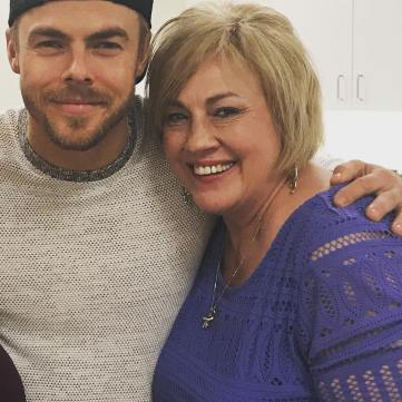 """#derekhough! So great to see this amazing person!!!' Courtesy avbibbs IG"