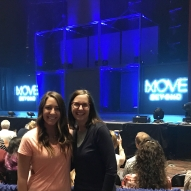"""Almost showtime! So excited to see two of our favorite dancers @juleshough @derekhough #movebeyond #moveliveontour #route66"" Courtesy jennifisher66 IG"