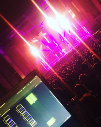 """Providing PA for @movebeyondlivetour @jbl_pro #jblpotw"" Courtesy hearitclear ig"