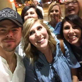 """DREAMS DO COME TRUE!! Now I can have this baby 😜#bucketlist check ✔️ #movelivetour @derekhough"" Courtesy hayls24 ig"