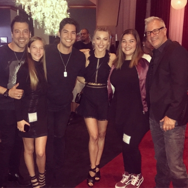 """About last night... Such an insane show @moveliveontour. Definitely a night to remember. @juleshough @derekhough you all were incredible . Loved watching so many friends on stage with them dancing. Truly a fantastic night of dance. #moveliveontour @paulinemata"" Courtesy markmeismer ig"