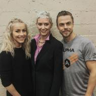 """LEGENDS 👏🏼👏🏼👏🏼 #derekhough #juliannehough"" Courtesy houghsdaily ig"