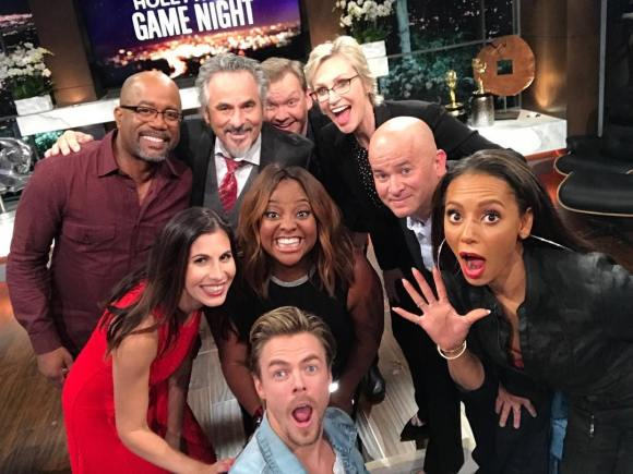 """Cannot wait for you to see tonight's #HGN. Hijinx ensue. Fun is had. It's going to be a good night. Catch all of us at 10/9c on @NBC. - @DerekHough"""