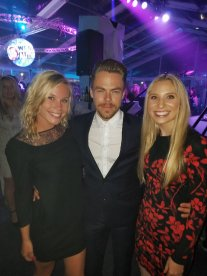 """@derekhough thanks for hanging with us tonight at #EPICWMTV"" Courtesy BeaudryAR06 TW"
