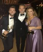"""The absolute best!!!! So deserving. I am forever a fan and family.❤️I love our dancing community where we can support one another and genuinely root for each other. Love you both @traviswall @nopenother #emmys #family #friends #dwts #sytycd #dancing 🎉🎉🎉🎉🎉"" Courtesy derekhough ig"