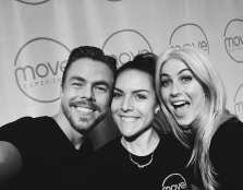 i am SO grateful, humbled & simply elated.. to have had this incredible opportunity to motivate as a team leader at the @moveexperience alongside @derekhough & @juleshough 😍❤ these two are truly THE most kind, most beautiful souls, who vibrate SO much love & energy.. thank you for sharing it with ALL of us & being so wonderful. this world needs more of what you give ❤🙏🙌✨🌞 shout out to my teammatessss @bekabadila @eriiica_rae @mariogodiva @errrrrrrka for your sweet, joyous energy, & a megaaaa shoutout to @courtneyromano & @feelthiswithkara for not only seamlessly executing this aaaaahhmazing event, but for involving me, trusting my vibe, & continually being such lovely, badass women. #THANKYOU & love you TONS! #JUSTMOVE #moveexperience Courtesy wimoni ig