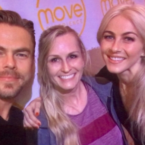 Yesterday was such an amazing experience! Thank you @derekhough & @juleshough for an awesome event. Courtesy leslie_sides ig