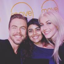 And we meet again ... @juleshough @derekhough #moveexperience #favouritesiblings #lovetrumps #youareenough #motionequalsemotion #mydancefamily Courtesy christinaaroach ig
