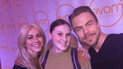 thank u @juleshough and @derekhough for a beautiful day of outward self love (and getting to check off being noticed by y'all on my bucket list was kinda nice too) ♥️ Courtesy a.l.i.c.e.354 ig